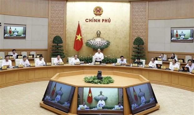 Reunion periodique d'aout du gouvernement hinh anh 1