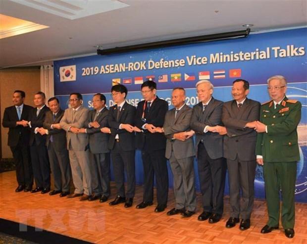 Defense : le Vietnam participe a une rencontre ASEAN-Republique de Coree hinh anh 1