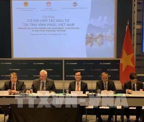 Vinh Phuc promeut l'investissement aux Etats-Unis hinh anh 1