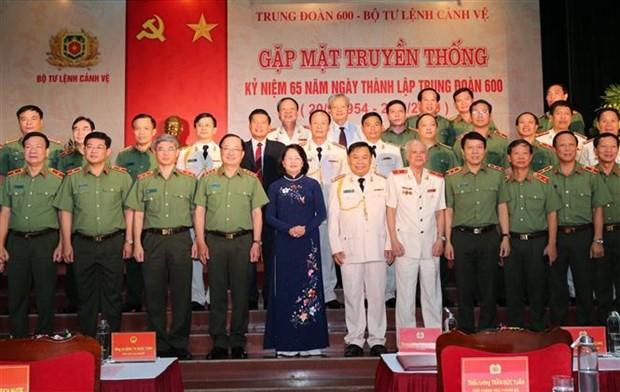 Le regiment 600 – Commandement de la Garde fete son 65e anniversaire hinh anh 1