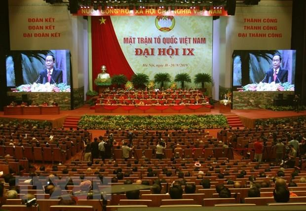 Ouverture du 9e Congres national du Front de la Patrie du Vietnam hinh anh 1