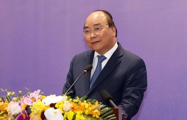 Le PM participe a la seance pleniere du Forum de Reforme et de Developpement du Vietnam 2019 hinh anh 1