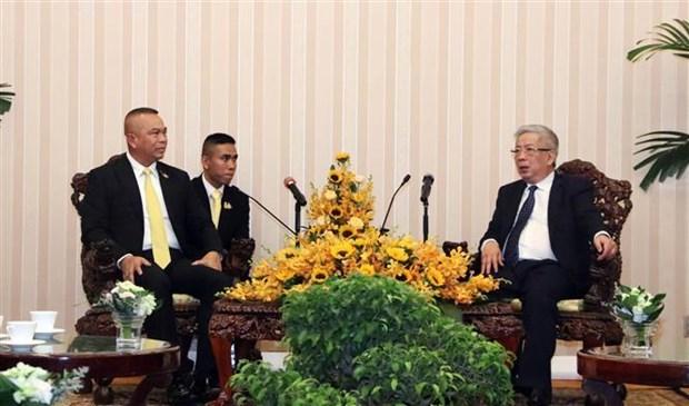 Le Vietnam et la Thailande renforcent leur cooperation dans la defense hinh anh 1