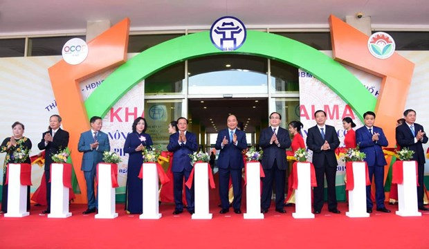 Le Premier ministre assiste a l'ouverture d'une foire des produits agricoles a Hanoi hinh anh 1