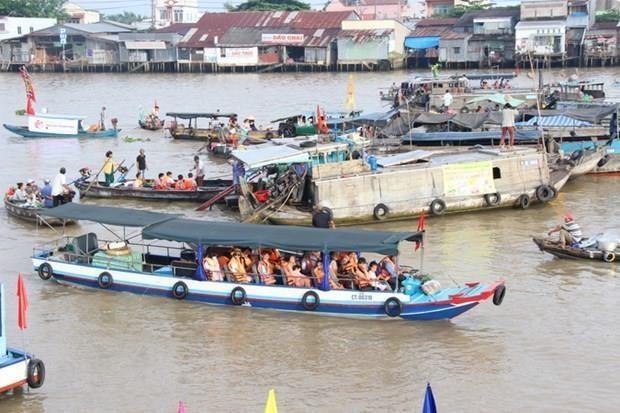 Can Tho : plus de 7 millions d'arrivees touristiques en neuf mois hinh anh 1