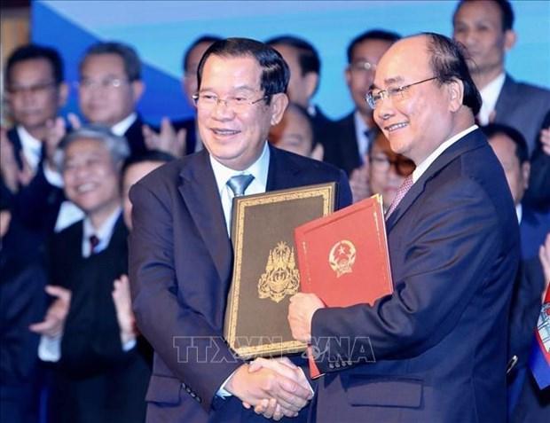 Une nouvelle avancee dans le probleme frontalier Vietnam – Cambodge hinh anh 1