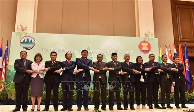 ASEAN : communique conjoint de la 15e conference ministerielle sur l'environnement hinh anh 1