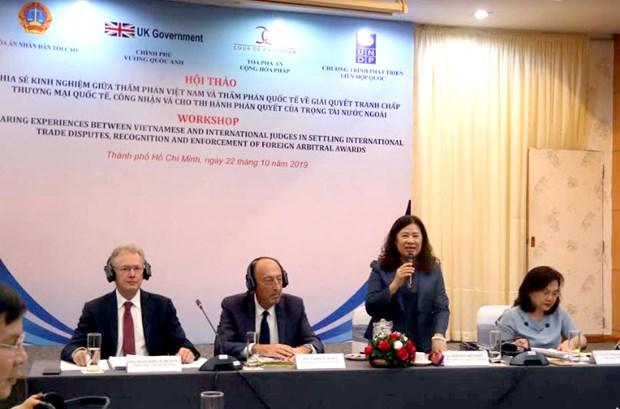 Partage d'experiences sur le reglement de differends commerciaux internationaux hinh anh 1