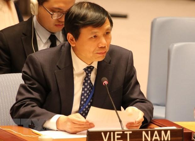 Le Vietnam a une seance sur « Les Femmes et la Paix et la Securite » a New York hinh anh 1