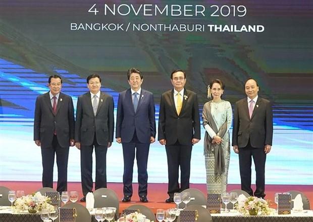 Le Premier ministre assiste au 11e Sommet Mekong-Japon hinh anh 1