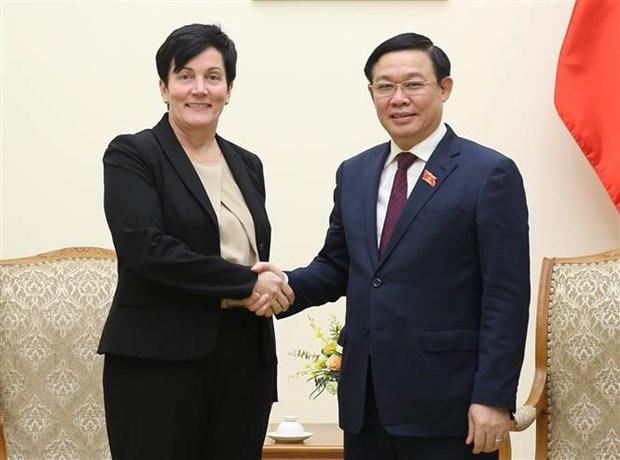 IFC apprecie les opportunites d'investissement financier au Vietnam hinh anh 1