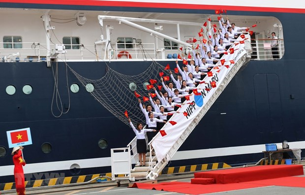 Le bateau de la jeunesse d'Asie du Sud-Est a Ho Chi Minh-Ville hinh anh 1