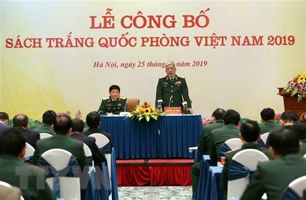 La politique de defense du Vietnam est axee sur la paix et l'autodefense hinh anh 1