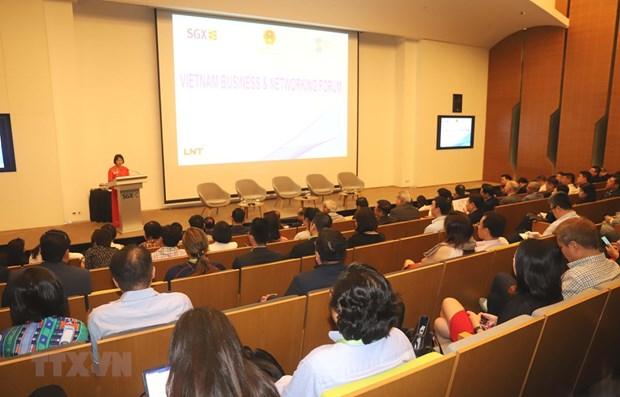 Forum d'affaires du Vietnam a Singapour hinh anh 1