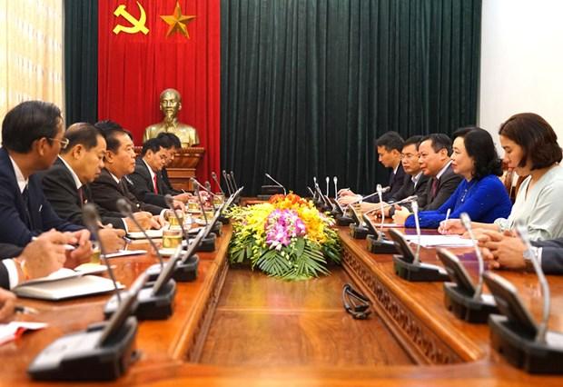 Renforcement des relations entre Hanoi et Vientiane (Laos) hinh anh 1