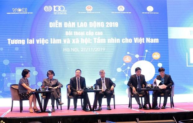 Forum du travail 2019 a Hanoi hinh anh 1