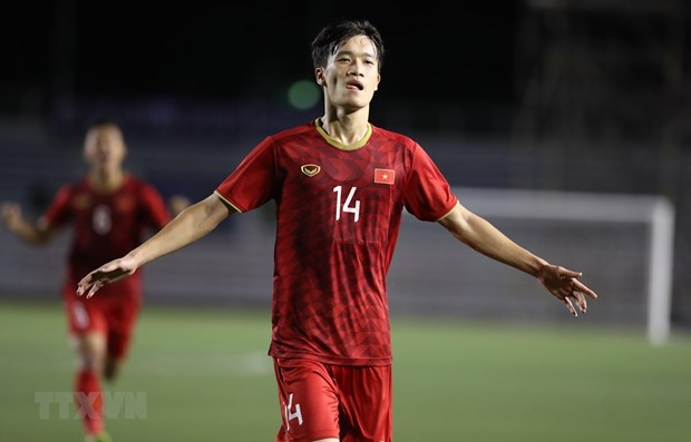 Football : le Vietnam bat l'Indonesie 2-1 aux SEA Games 30 hinh anh 1