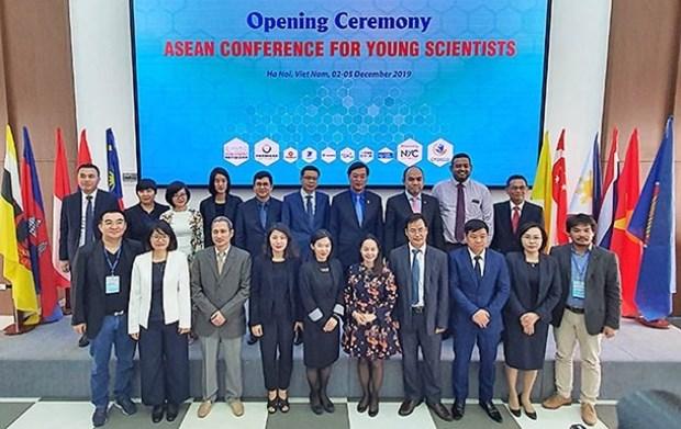 Ouverture de la conference des jeunes scientifiques de l'ASEAN 2019 hinh anh 1