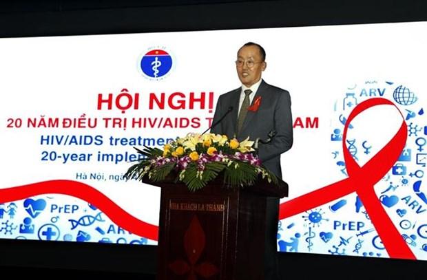 Chaque annee, 10.000 porteurs du VIH commencent un traitement antiretroviral hinh anh 1