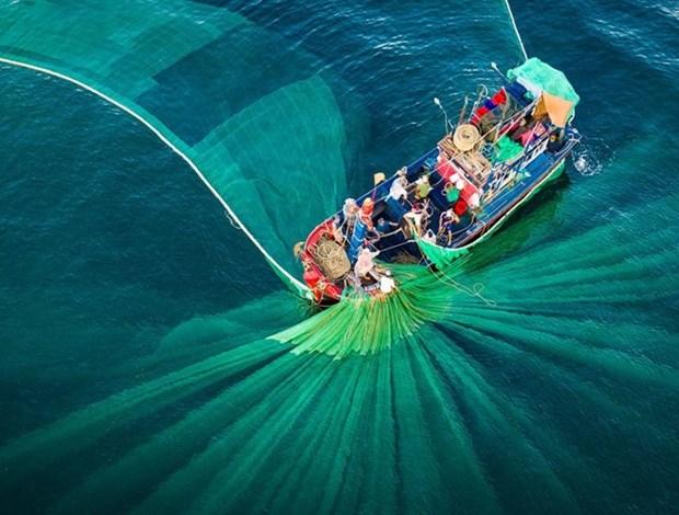 Un Vietnam magnifique vu d'en haut a un concours international de photos hinh anh 1