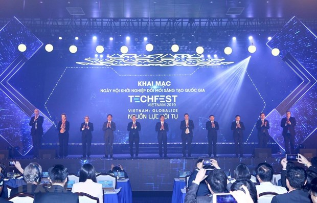 Ouverture de Techfest Vietnam 2019 hinh anh 1