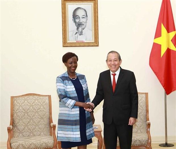 Le Vietnam s'engage a continuer a cooperer avec les pays francophones hinh anh 1