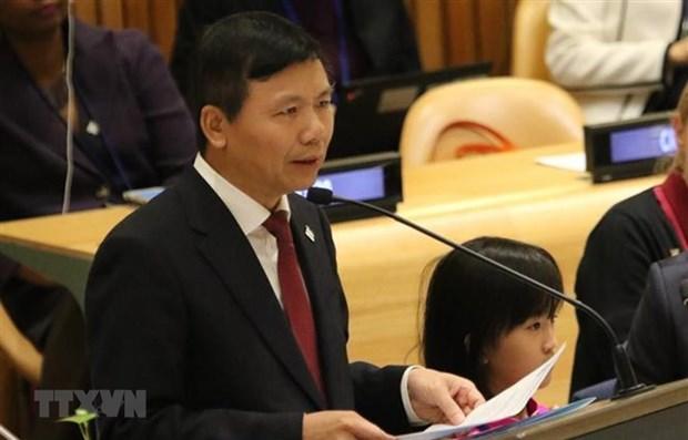 Le Vietnam presente ses priorites en tant que membre non permanent du Conseil de securite hinh anh 1