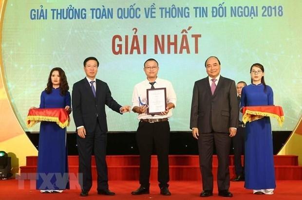 Criteres du Prix national de l'information pour l'etranger 2019 hinh anh 1