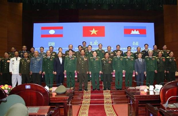 Vietnam-Laos-Cambodge : remise de distinctions honorifiques hinh anh 1