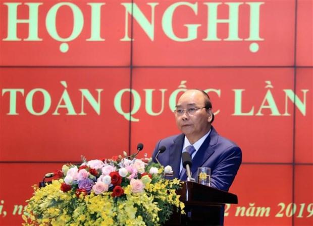 Le PM souligne le role important des forces de securite publique hinh anh 1