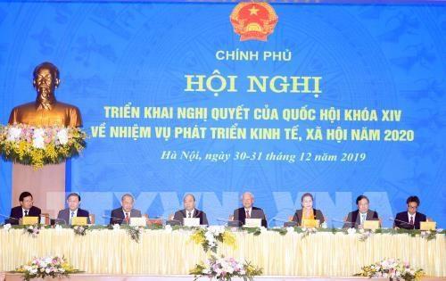 Le Vietnam vise une croissance de 6,8% en 2020 hinh anh 1