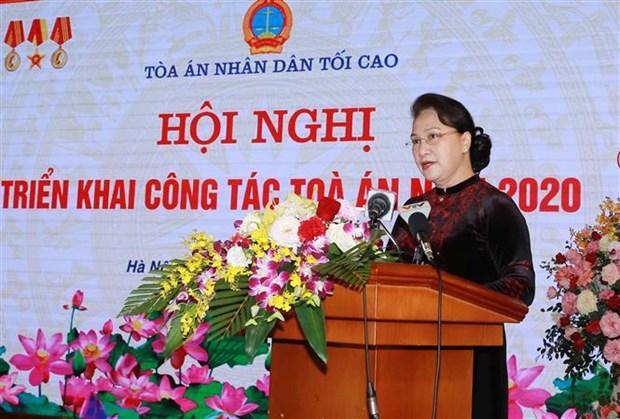 Les tribunaux appeles a continuer de se concentrer sur les reformes judiciaires hinh anh 1