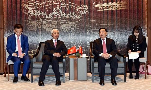 Celebration des 70 ans des relations diplomatiques Vietnam-Chine a Pekin hinh anh 1