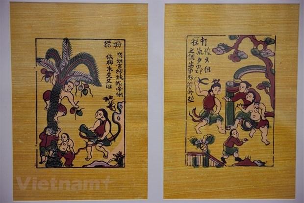 Originalite des estampes populaires de Dong Ho hinh anh 1