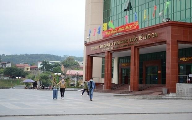 Lao Cai suspend les entrees et les sorties des touristes via son poste frontalier avec la Chine hinh anh 1
