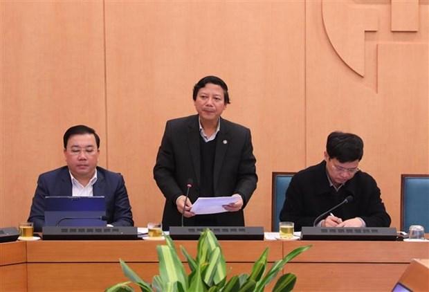Nouveau coronavirus : Hanoi poursuit l'application de mesures rigoureuses hinh anh 1