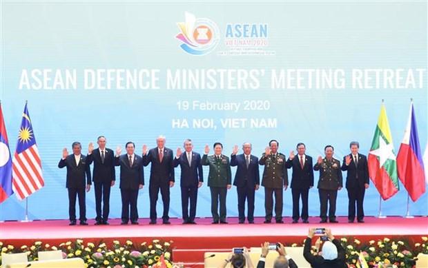 Ouverture de la conference restreinte des ministres de la Defense de l'ASEAN hinh anh 1