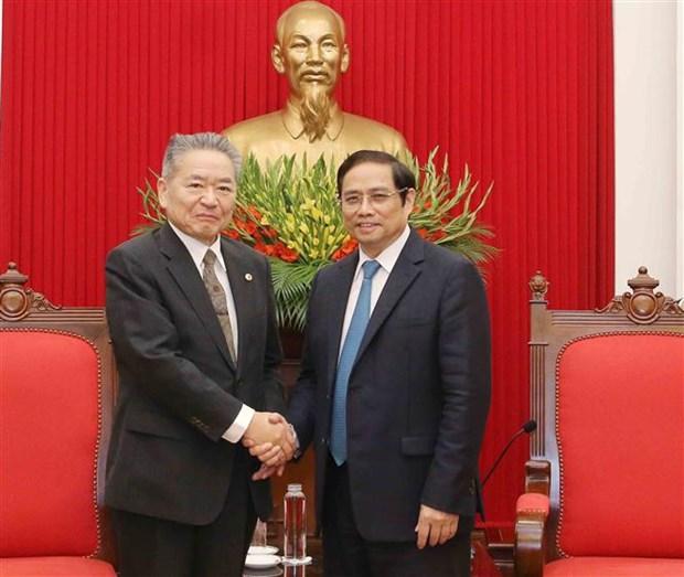 Une delegation du Parti communiste japonais au Vietnam hinh anh 1
