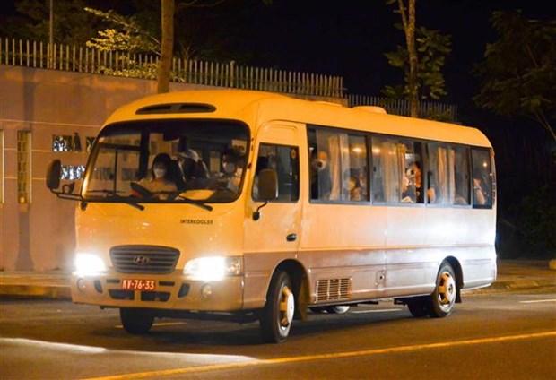 Da Nang : des touristes sud-coreens retournent a leur pays d'origine hinh anh 1
