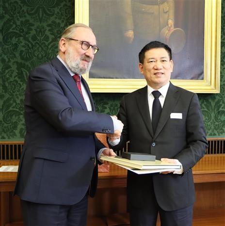 Le Vietnam et la Belgique renforcent leur cooperation dans l'audit hinh anh 1