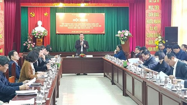 COVID-19 : Hanoi continue a accompagner le milieu d'affaires hinh anh 1