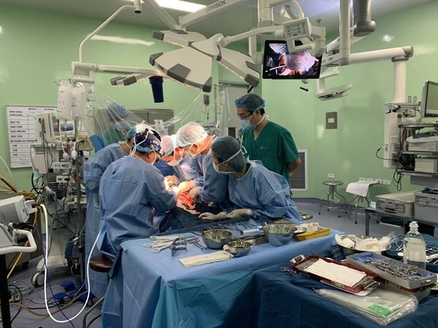 L'Hopital pediatrique national reussit deux greffes de foie difficiles hinh anh 1