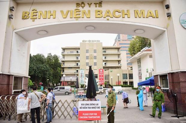 Coronavirus: l'Hopital Bach Mai accueille des patients graves venus d'autres etablissements medicaux hinh anh 1