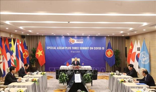 Intensification de la cooperation de l'ASEAN et de l'ASEAN+3 face au COVID-19 hinh anh 1