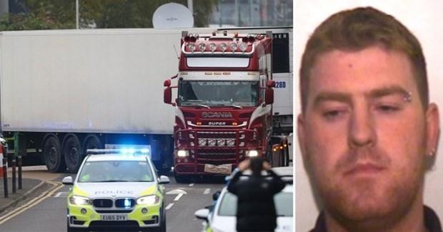 Camion charnier au Royaume-Uni : arrestation d'un homme en Irlande hinh anh 1