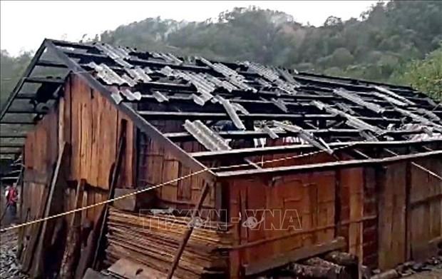 La Croix-Rouge vietnamienne offre des aides aux provinces frappees par la grele hinh anh 1