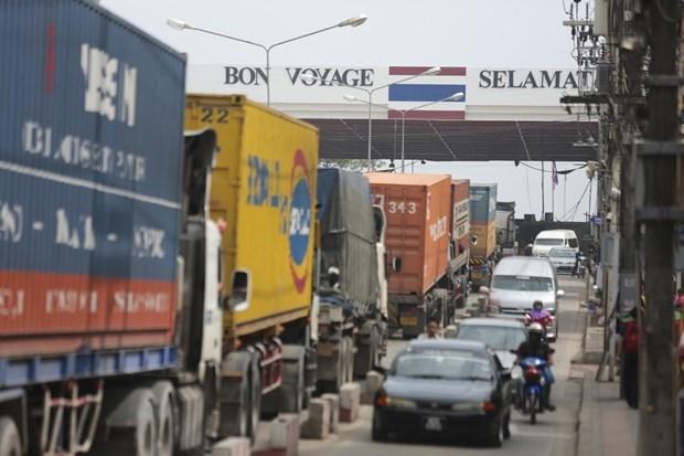 Thailande : le commerce transfrontalier en baisse de 7,6% au premier trimestre hinh anh 1