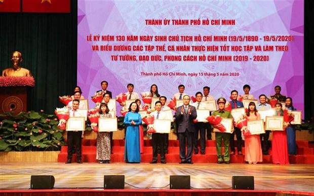 Diverses activites en l'honneur du 130e anniversaire du President Ho Chi Minh hinh anh 1