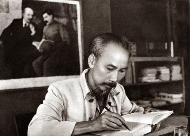La Pensee diplomatique de Ho Chi Minh dans la ligne politique exterieure du Parti et de l'Etat hinh anh 1