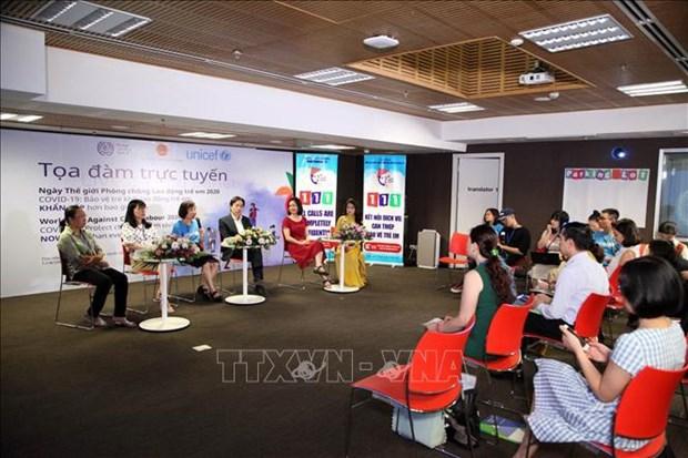 Colloque sur la lutte contre le travail des enfants hinh anh 1